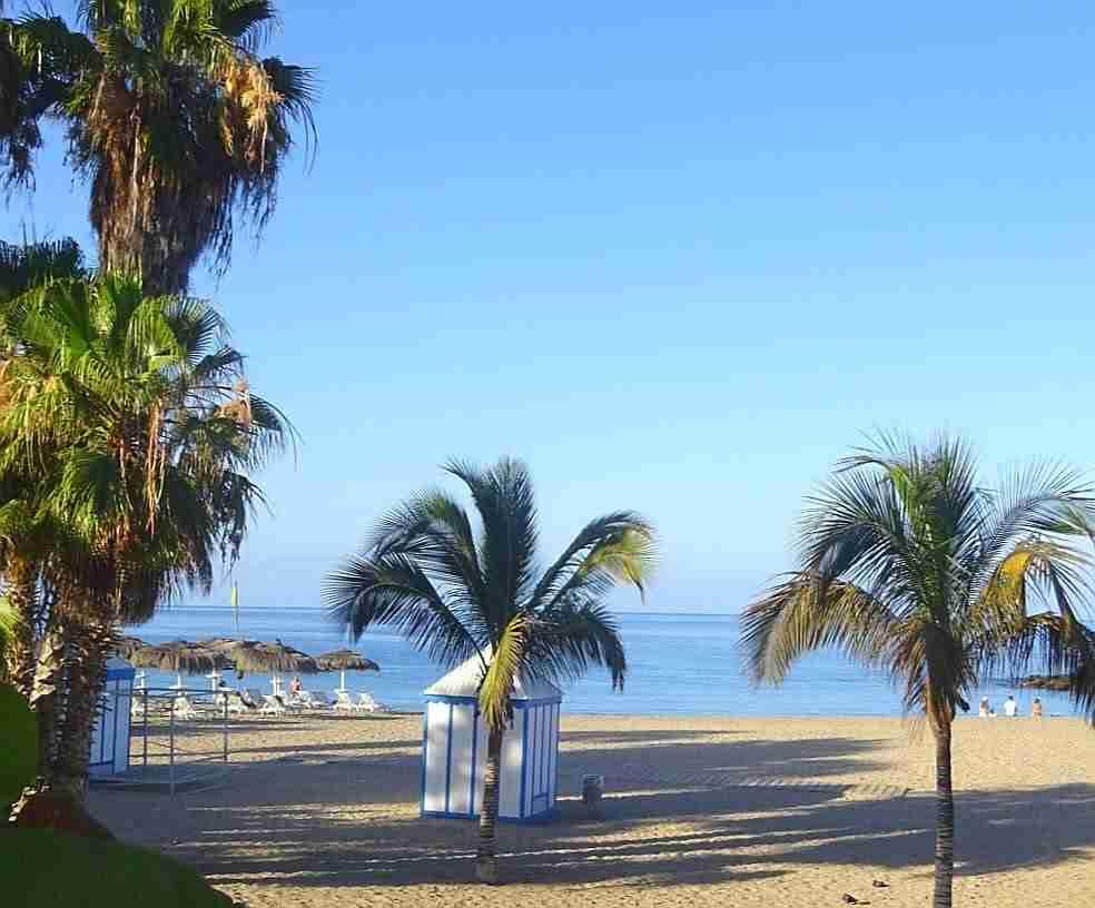 Playa del Duque strand in Costa Adeje