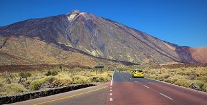 Huurauto bij de Teide